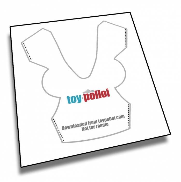 Toy Polloi Masters Of The Universe Prince Adam Vest Pattern Pdf