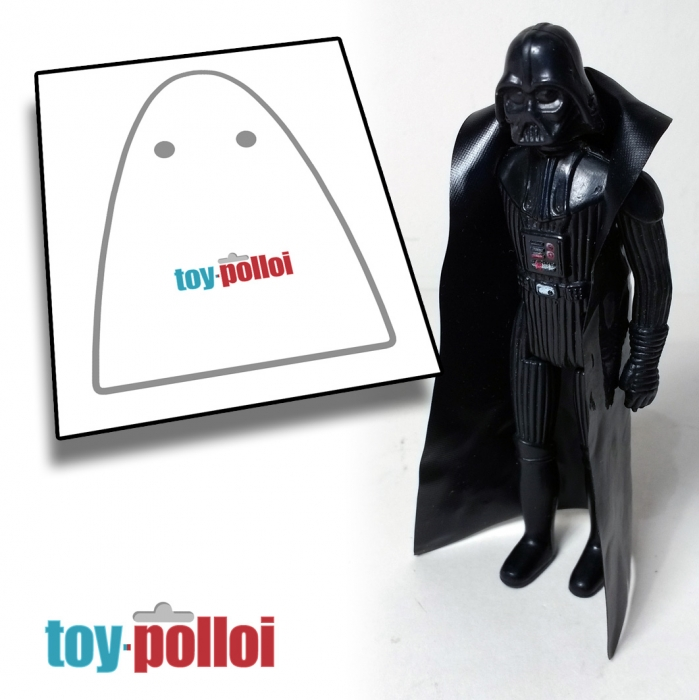 Darth Vader  Replacement CAPE Star Wars Nice!